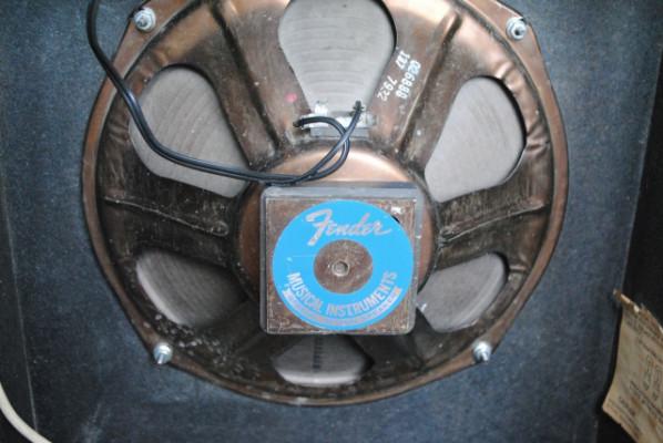 Amplicador Silverface FENDER MUSICMASTER BASS. REBAJADO