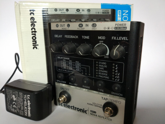 Delay TC-Electronics Nova Repeater