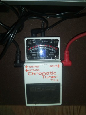 boss TU2,pedal afinador