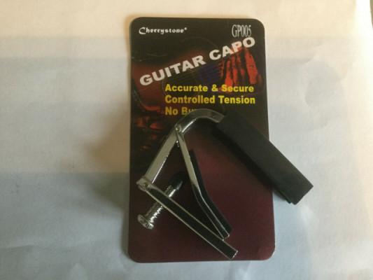 Universal Capo Capodaster Para Guitarras Y Bajo