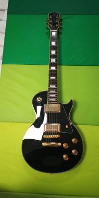 Guitarra tipo Gibson Custom