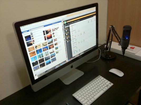 "iMac 27"" i7 impecable SSD disco duro sólido 256GB"