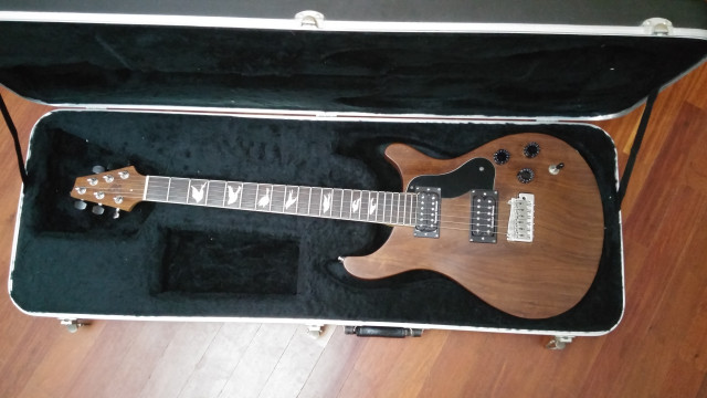 Guitarra Luthier estilo PRS