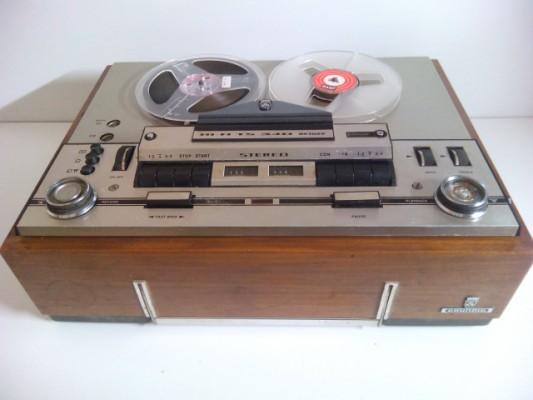 Magnetofono de valvulas Gunding TS 340 HI-FI De luxe. Stereo