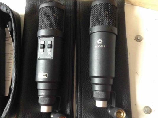 7x Oktava microfones