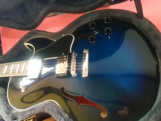 Gibson Memphis ES-137 Classic - Blueburst, 2003