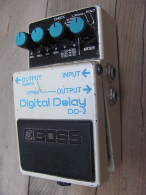 Boss DD-2 Delay 80's made in Japan