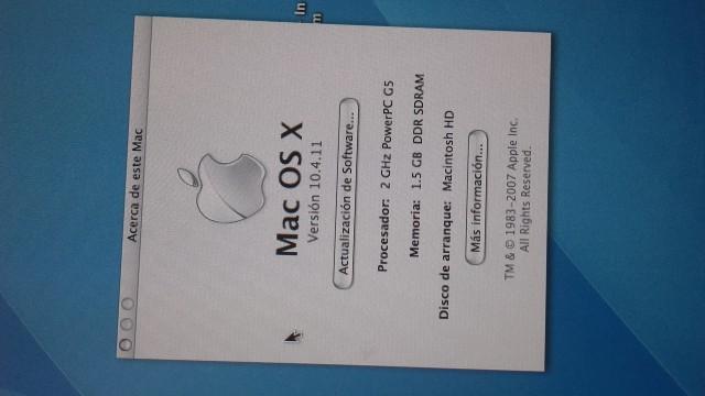 Power mac G5+Apple cinema display