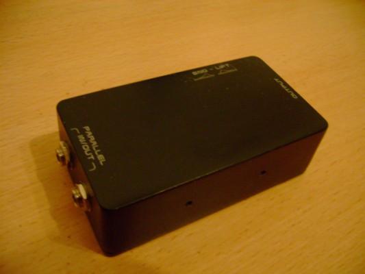 caja de inyeccion (DI box) con transformador Lundahl