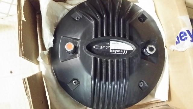 Vendo motor de agudos Beyma CP750TI