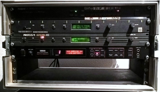 Módulos de síntesis y Fx para sonido profesional, años 90