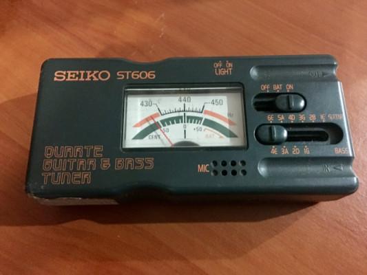 Afinador Seiko ST606 de los 90s