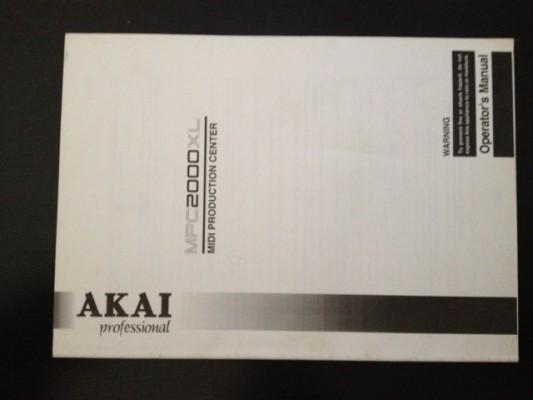 Manual original Akai MPC 2000XL