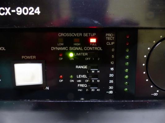 Etapa Alemana Bell PCX-9024,  2 x 650watt @ 4ohm procesada