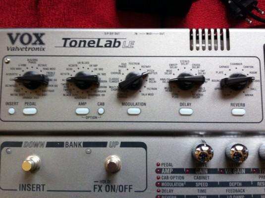 Vox Tonelab LE Como nuevo