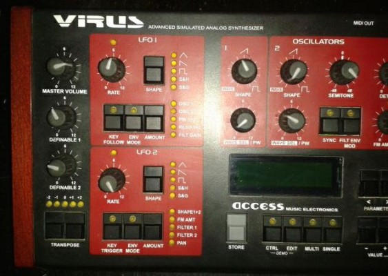 Access VIRUS A