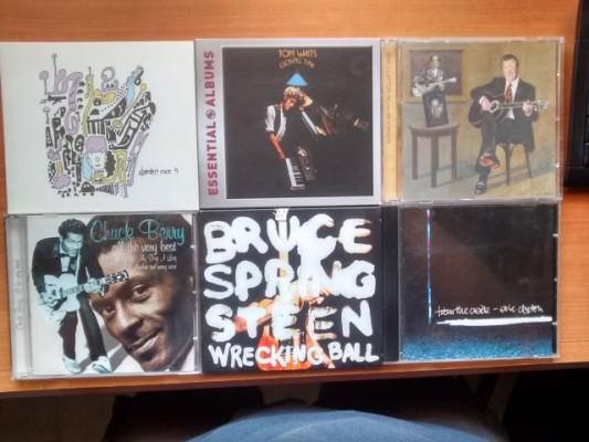 cds de rock, blues, punk, etc