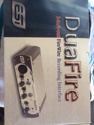 Audio interface Esi duafire