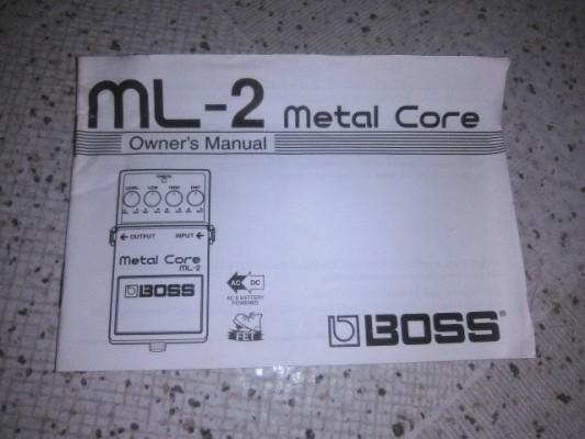 Manual ML-2 boss (metal core)