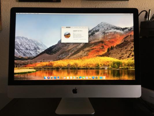 "Apple iMac 27"" Mid 2011 I5 2,7 Ghz, 12 Gb Ram"
