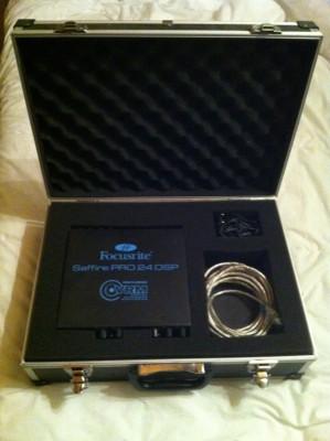Tarjeta de sonido Focusrite Saffire PRO 24 FireWire