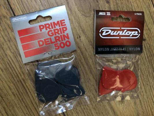 Púas Dunlop Jazz III-XL bolsa de 6 - 3€