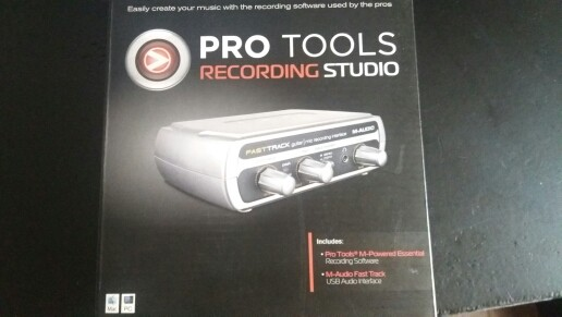 Se vende Pro Tools interfaz de audio.