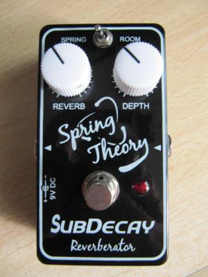 Subdecay Spring Theory Reverberator