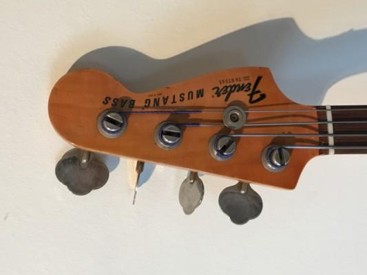 Fender Mustang Bass de 1976 MÁS REBAJADO