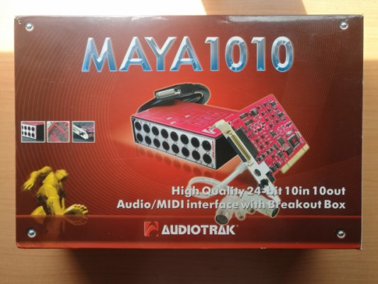 Interface audio pci MAYA 1010