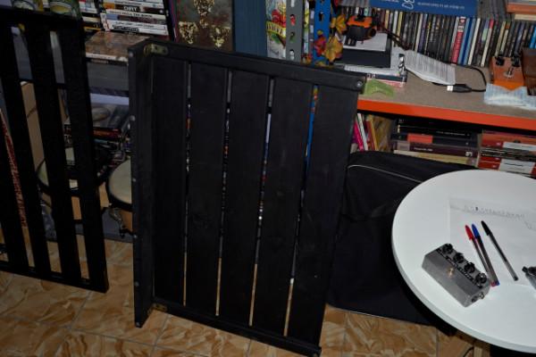 Pedalboard de madera grande y resistente REBAJA+