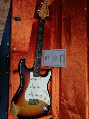 Reservada!!! Fender stratocaster custom shop heavy relic 1968 time machine series
