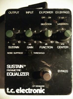 Vintage Tc Electeonics SUSTAIN+ PARAMETRIC EQUALIZER