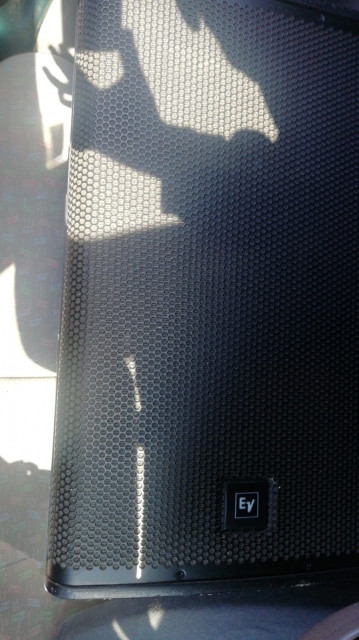 Pareja de altavoces EV ELX 115