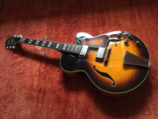 Guitarrón Ibanez AF195 Made in Japan Edición Limitada BlackFriday