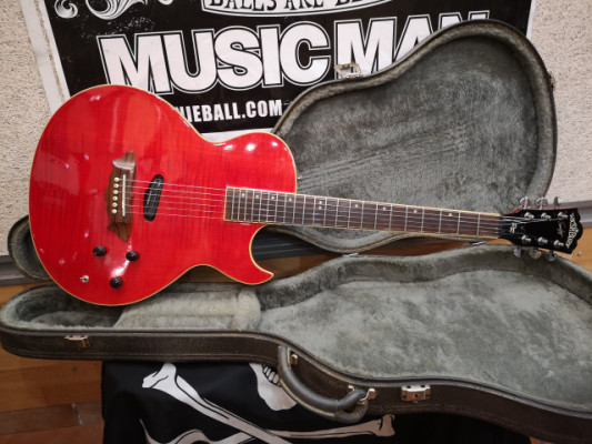 1997 Washburn Sammy Hagar Red Rocker RR-100