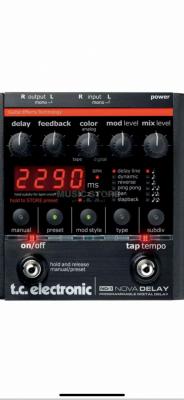 Tc Electronics Nova delay RESERVADO
