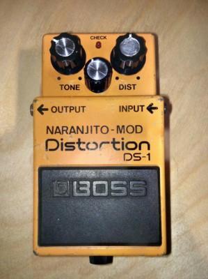 "Boss DS1 ""Naranjito Mod con interruptor"""