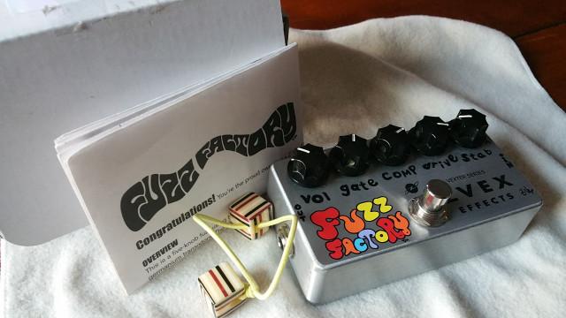 zvex fuzz factory vexter / perfecto estado