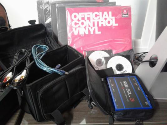 SERATO SL3 Edicion Azul + 6 vinilos (scratch live, dj, dj pro...)