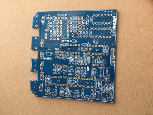 o Cambio: PCB lowRider (octavador DIY)