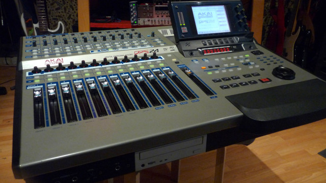 Akai DPS24 24-Track/24-bit/96kHz Workstation
