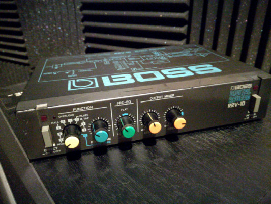 BOSS RRV10 DIGITAL REVERB
