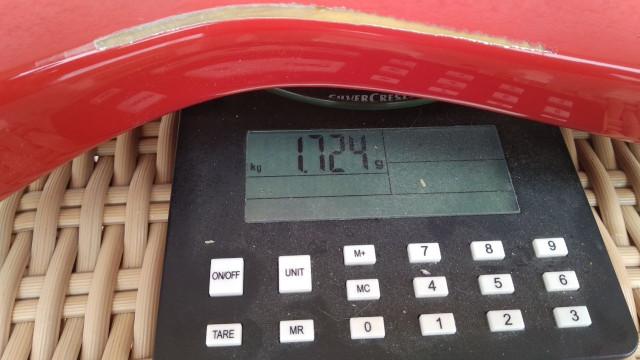 Cuerpo Ligero 1.7Kg   Macizo de Poplar o Tilo,