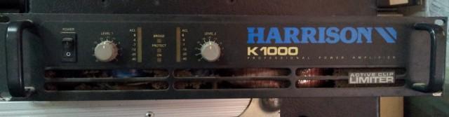 Etapa potencia Harrison K1000
