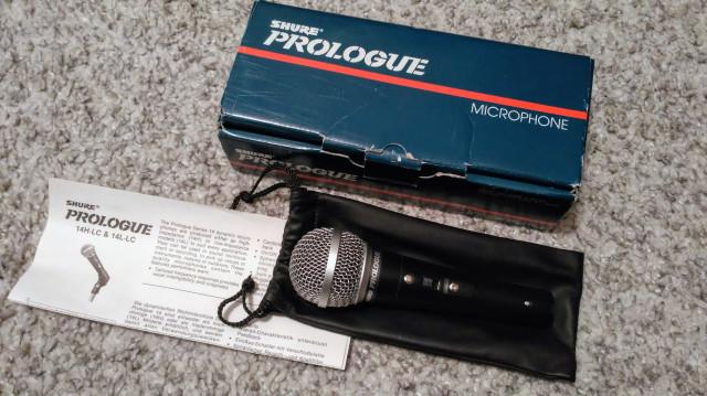 Micrófonos Shure Prologue 14L y 12L (envío incluido)