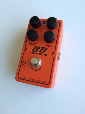 Vendo o Cambio XOTIC BB Preamp