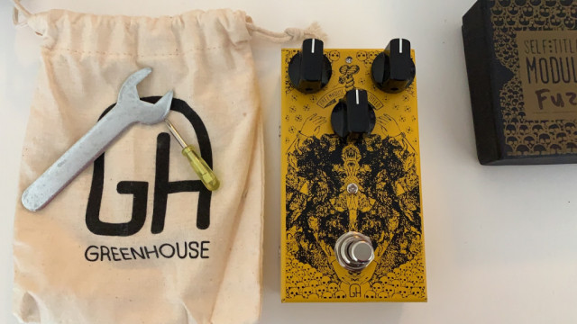 Greenhouse Effects Self-titled - FUZZ, TREM, BOOST, OVERDRIVE - MINT