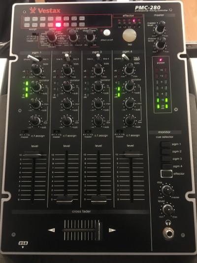 Vestax PMC-280 mesa de mezclas DJ