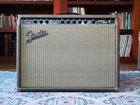 Fender Super 6G4A del año 1962 Brownface RESERVADO